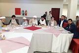 ضیافت شام به مناسبت عید سعید غدیر به همراه حضرات