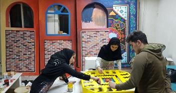 طراحی دکور سیمای مرکز مهاباد توسط دانشجویان دانشگاه میعاد