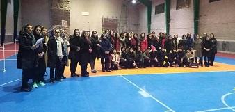 مسابقات باشگاهی آمادگی جسمانی بانوان انتخابی تیم شهرستان مهاباد
